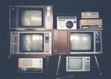 Uitstekende televisie royalty-vrije stock fotografie