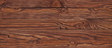 Uitstekende textuur van donkere gelijke houten raad Stock Afbeeldingen