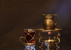 Uitstekende thee-Partij Royalty-vrije Stock Afbeeldingen