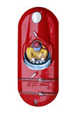 Uitstekende tinstuk speelgoed raceauto royalty-vrije stock foto's