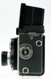 Uitstekende TLR-camera Stock Afbeelding