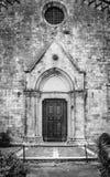 Uitstekende Toscaanse kerk Stock Foto