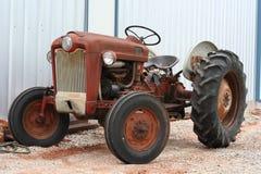 Uitstekende tractor Royalty-vrije Stock Afbeelding