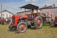 Uitstekende tractor Ferguson TEF 20 Royalty-vrije Stock Afbeelding