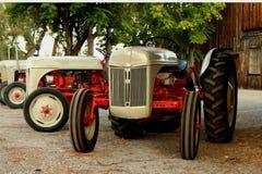 Uitstekende tractoren Royalty-vrije Stock Afbeelding