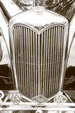 Uitstekende traditionele Riley-radiatorgrill Stock Afbeelding