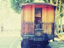 Uitstekende trein Royalty-vrije Stock Foto's