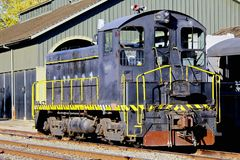 Uitstekende trein Oud Sacramento stock afbeeldingen