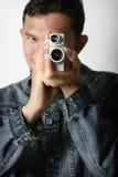 Uitstekende VDO-Camera royalty-vrije stock foto
