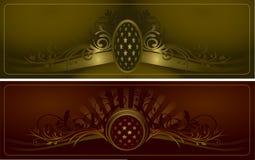 Uitstekende vector als achtergrond Royalty-vrije Stock Afbeeldingen