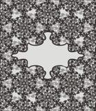 Uitstekende vectorprentbriefkaar stock foto