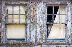Uitstekende vensters Royalty-vrije Stock Afbeeldingen