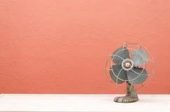Uitstekende Ventilator Royalty-vrije Stock Afbeeldingen