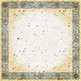 Uitstekende vierkante grensachtergrond Royalty-vrije Stock Afbeelding