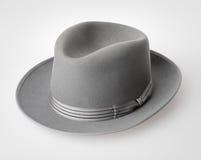 Uitstekende vilten hoed Stock Foto