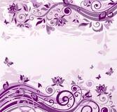Uitstekende violette achtergrond royalty-vrije illustratie