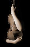 Uitstekende viool Stock Foto's