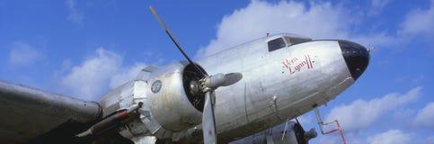 Uitstekende vliegtuigen Royalty-vrije Stock Foto