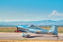 Uitstekende vliegtuigen royalty-vrije stock foto's
