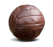 Uitstekende voetbal geïsoleerdee w.weg Royalty-vrije Stock Foto
