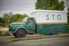 Uitstekende Volvo-vrachtwagen Royalty-vrije Stock Fotografie