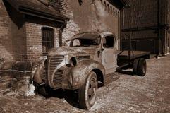 Uitstekende vrachtwagen Royalty-vrije Stock Afbeelding