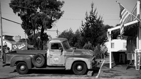 Uitstekende vrachtwagen Royalty-vrije Stock Foto's