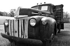 Uitstekende vrachtwagen Stock Foto