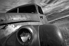 Uitstekende Vrachtwagen Stock Afbeelding