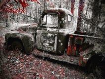 Uitstekende vrachtwagen stock afbeeldingen