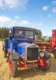 Uitstekende vrachtwagen bij Verzameling Roseisle. Stock Foto