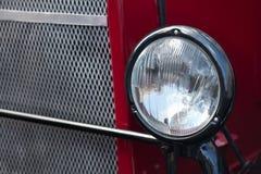Uitstekende vrachtwagen, bus, autokoplamp Stock Afbeelding