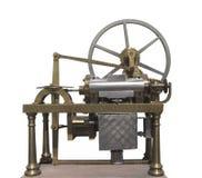 Uitstekende vroege geïsoleerde gasmotor. stock fotografie