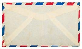 Uitstekende vuile luchtpostenvelop Royalty-vrije Stock Afbeelding