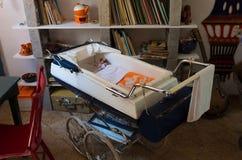 Uitstekende wandelwagen Royalty-vrije Stock Foto