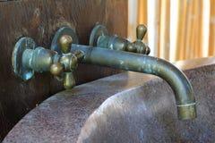Uitstekende waterkraan Royalty-vrije Stock Foto