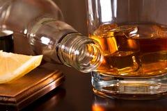 Uitstekende whisky Stock Afbeeldingen