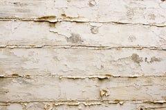 Uitstekende witte houten achtergrond. royalty-vrije stock foto