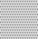 Uitstekende witte naadloze achtergrond abstracte witte vierkante geometic textuur vector illustratie
