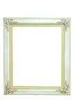 Uitstekende witte omlijsting Royalty-vrije Stock Afbeelding