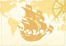 Uitstekende woordkaart Royalty-vrije Stock Foto