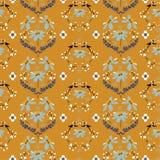 Uitstekende Zacht en zacht van wild bloem naadloos patroon in regelmatig herhalingsontwerp voor manier, behang, stof, Web en alle royalty-vrije illustratie