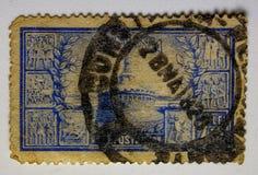 UITSTEKENDE ZEGEL, ROEMENIË 1820 FIJNE GRAFICS royalty-vrije stock afbeeldingen