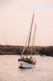 Uitstekende Zeilboot Royalty-vrije Stock Foto