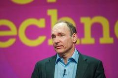 Uitvinder en stichter van World Wide Web Sir Tim Berners-Lee royalty-vrije stock foto