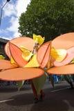 Uitvoerder bij de Notting Heuvel Carnaval Royalty-vrije Stock Foto's