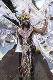 Uitvoerder bij de Notting Heuvel Carnaval 2010 Stock Foto's