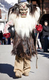 Uitvoerder in een traditioneel kostuum Tschaggatta Royalty-vrije Stock Fotografie