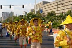 Uitvoerder-in-parade Royalty-vrije Stock Fotografie