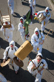 Uitvoerders die aan Milan Clown Festival 2014 deelnemen royalty-vrije stock foto
